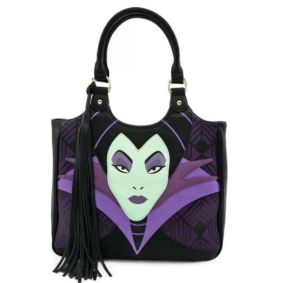 Loungefly Handbags - Loungefly x Disney Maleficent Large Tote Purse